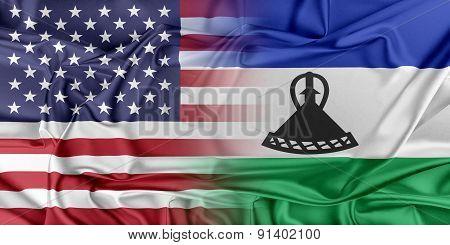 USA and Lesotho