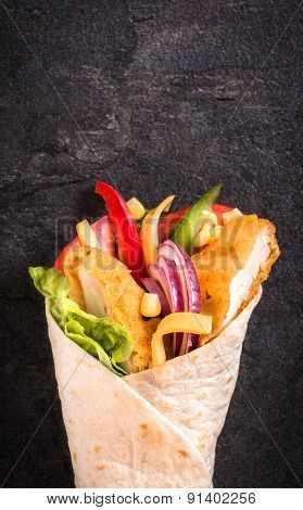 Chicken Wrap Sandwich