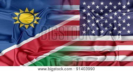 USA and Namibia