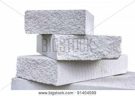 Lightweight  Concrete Block (white Background)
