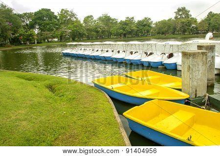 Ship In A Public Park