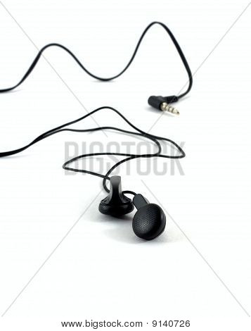 Stereo Headphones With A Cable And A Plug