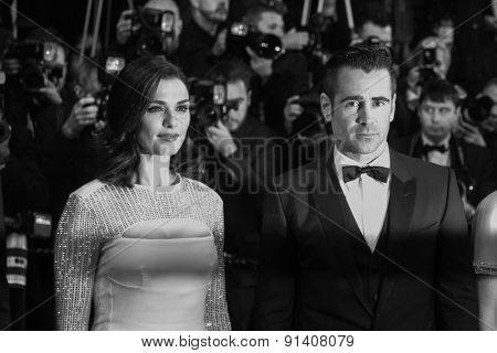 Collin Farrell attend the 'Lobster' Premiere during the 68th annual Cannes Film Festival on May 15, 2015 in Cannes, France.