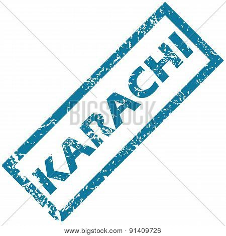 Karachi rubber stamp