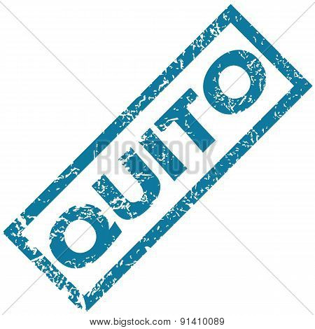 Quito rubber stamp