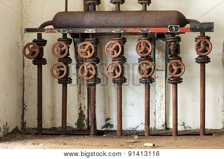 Steam Distribution Manifold