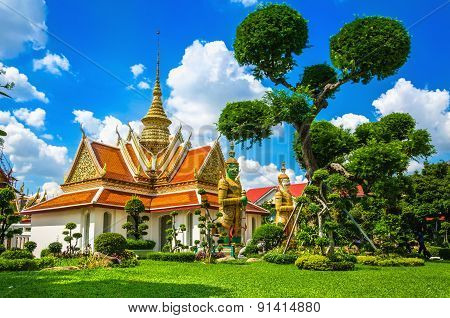 Great Palace Buddhist temple Bangkok, Thailand