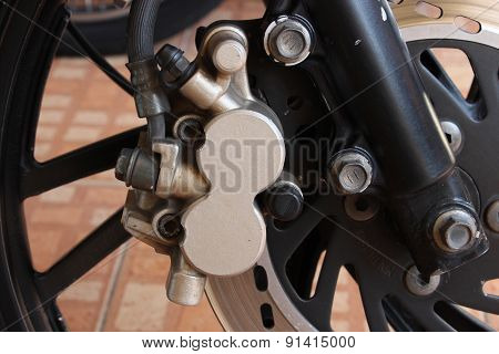 Disc Brake Of Motorcycle