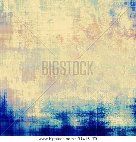 Highly detailed grunge texture or background. With different color patterns: yellow (beige); gray; blue; cyan