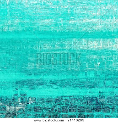 Abstract grunge background or old texture. With different color patterns: gray; blue; cyan