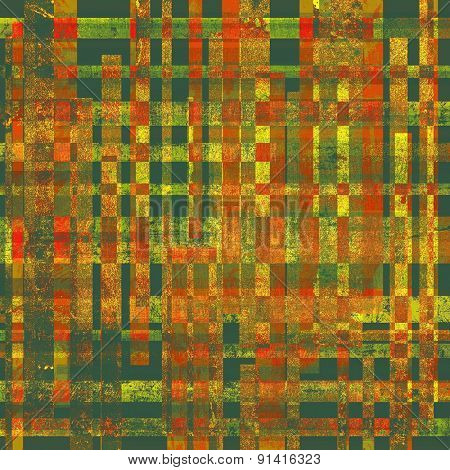 Old background or texture. With different color patterns: yellow (beige); brown; red (orange); green