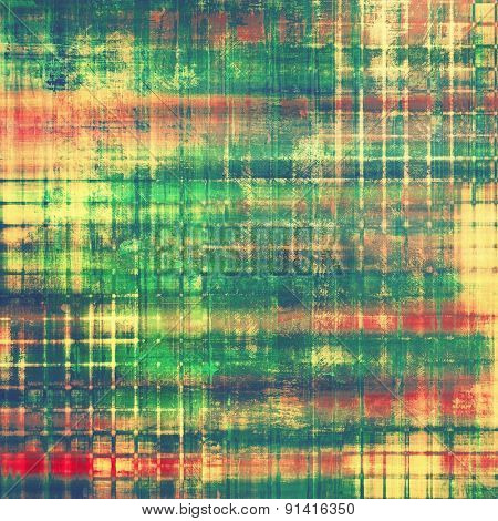 Old background or texture. With different color patterns: yellow (beige); blue; red (orange); green