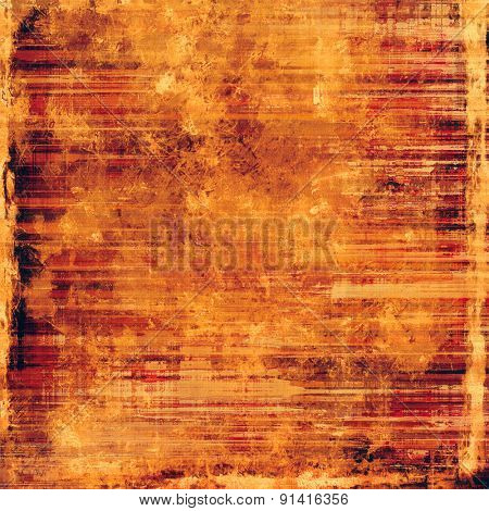 Grunge colorful background. With different color patterns: yellow (beige); brown; red (orange)