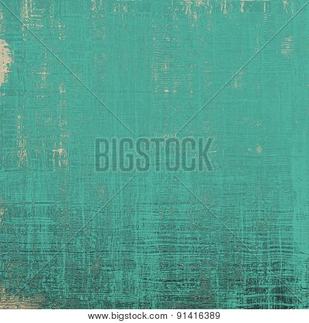 Grunge, vintage old background. With different color patterns: gray; blue; cyan