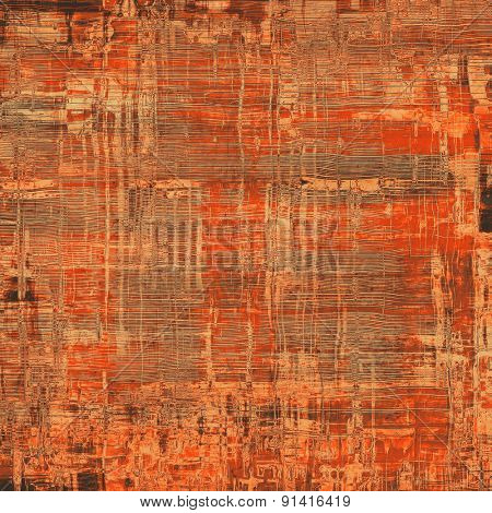 Aged grunge texture. With different color patterns: yellow (beige); brown; gray; red (orange)
