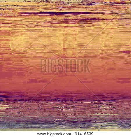Vintage texture for background. With different color patterns: yellow (beige); brown; purple (violet); pink