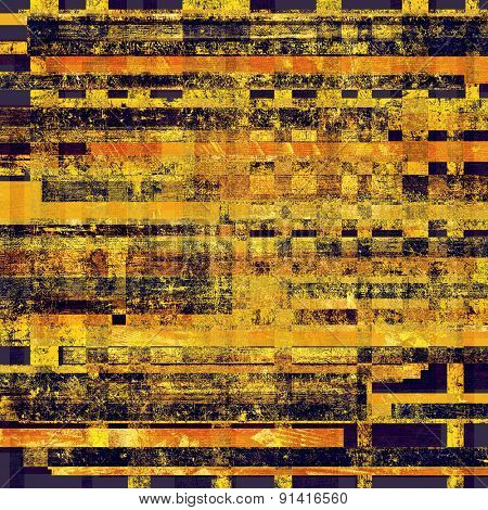 Grunge background with space for text or image. With different color patterns: yellow (beige); brown; purple (violet); black