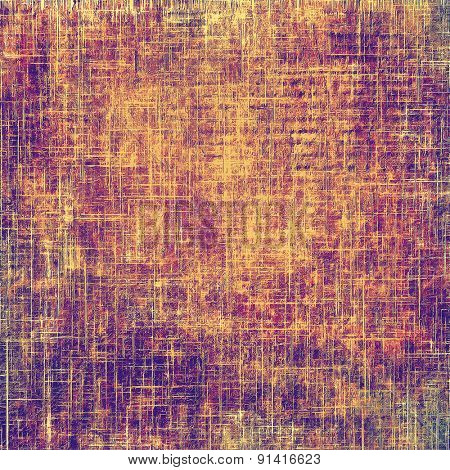 Grunge, vintage old background. With different color patterns: yellow (beige); brown; purple (violet)