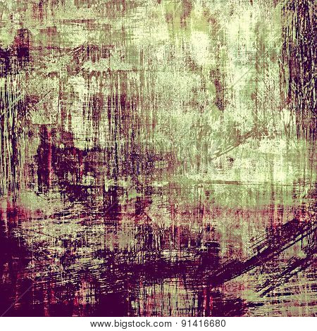 Grunge, vintage old background. With different color patterns: brown; gray; purple (violet); pink