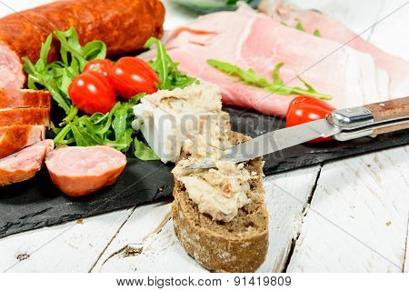Dish Cold Meats