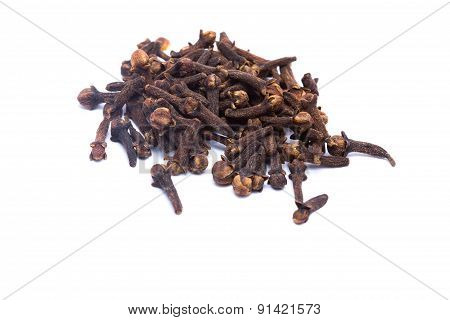 Clove Isolated On White Background