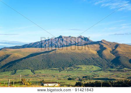 Early Morning Hills In Ecuador