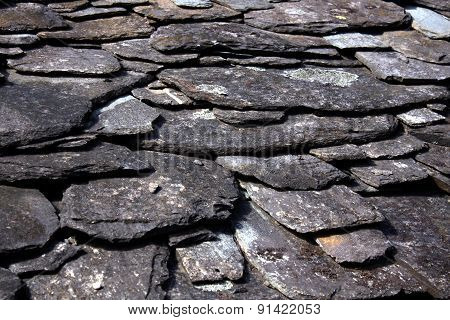 Stone Slate Rooftop