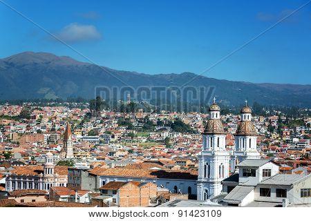 Cuenca, Ecuador Cityscape