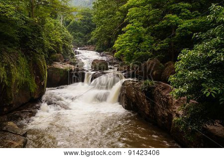 The famous waterfall named