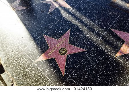 James Brown's Star On Hollywood Walk Of Fame