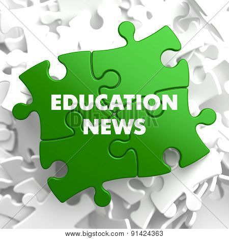 Education News on Green Puzzle.
