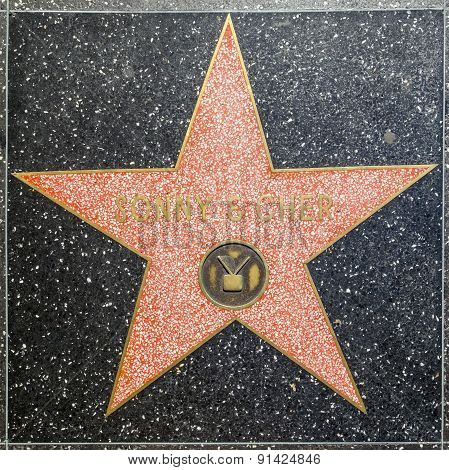 Sonny And Cher's Star On Hollywood Walk Of Fame