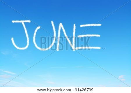 June Written In The Sky