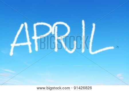 April Written In The Sky