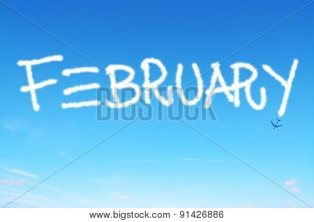 February Written In The Sky