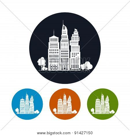 Icon Modern Big City