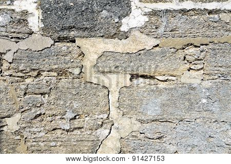 Castle Stone Wall