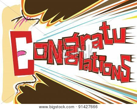 Congratulations Shout