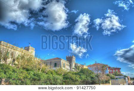 Buildings In Alghero Promenade