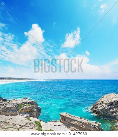 Rocky Shore In Is Arutas Beach