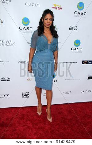 LOS ANGELES - MAY 21:  Sanaa Lathan at the 17th From Slavery to Freedom Gala at the Skirball Center on May 21, 2015 in Los Angeles, CA