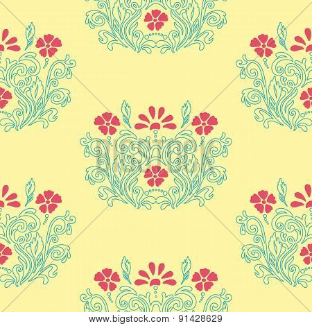 Floral Retro Pattern
