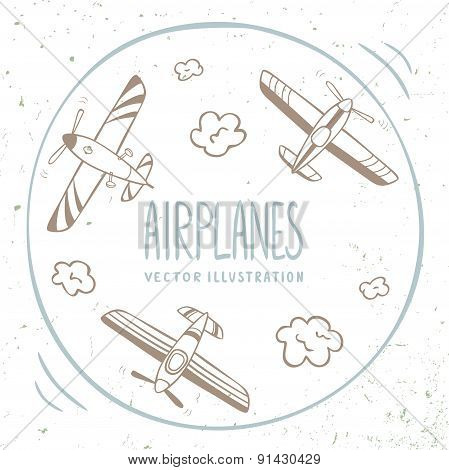 airplanes around