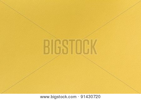 Yellow leather background