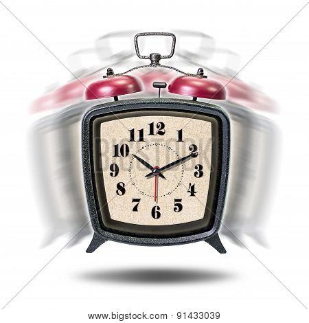 Vibrate Vintage Alarm Clock