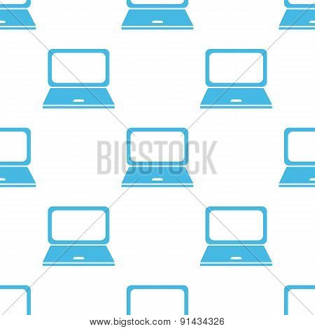 Flat laptop pattern