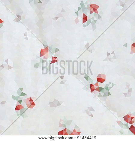 Geometric triangle mosaic background, graphic backdrop, border concept