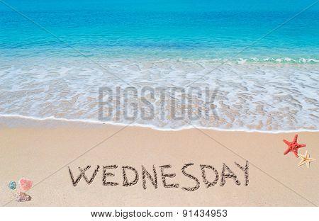 Wednesday On A Tropical Beach