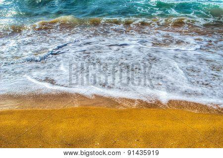 Golden Shoreline In Porto Ferro