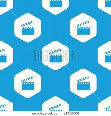 Clapperboard hexagon pattern